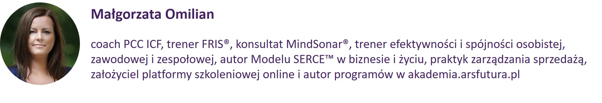 Małgorzata Omilian :: akademia.arsfutura.pl
